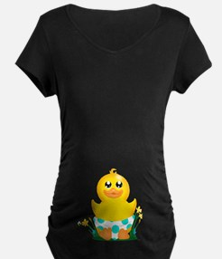 Baby Duck (scL) Maternity T-Shirt