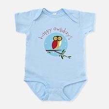 Happy Owlidays Body Suit