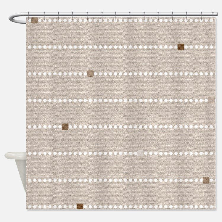 Tan Shower Curtains