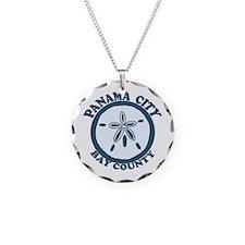 Panama City - Sand Dollar Design. Necklace
