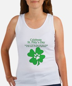 Women's St. Pitty's Day Women's Tank Top
