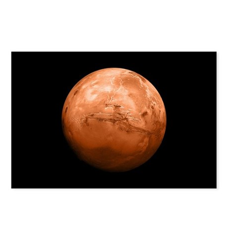 Planet Mars Postcards (Package of 8)