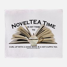 Classic NovelTEA Time Throw Blanket