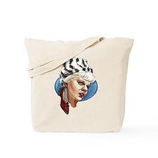 Retro Chick Tote Bag