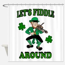 IRISH MUSIC Shower Curtain
