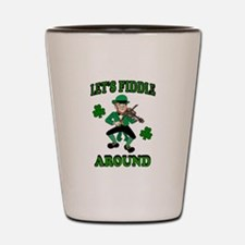 IRISH MUSIC Shot Glass