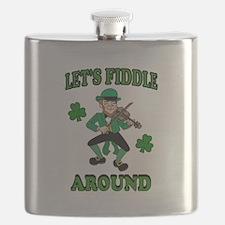 IRISH MUSIC Flask