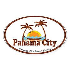 Panama City - Palm Tree Designs. Decal
