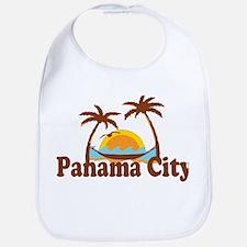 Panama City - Palm Tree Designs. Bib