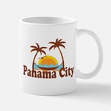 Panama City - Palm Tree Designs. Mug