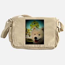 Chi Samoyed Messenger Bag