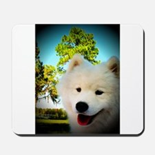 Chi Samoyed Mousepad