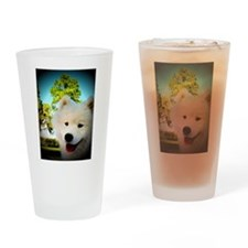 Chi Samoyed Drinking Glass