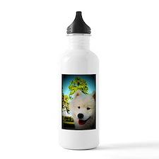 Chi Samoyed Water Bottle