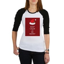 Keep Calm and Be Merry Baseball Jersey