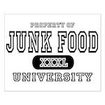 Junk Food University Small Poster