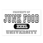 Junk Food University Postcards (Package of 8)
