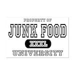 Junk Food University Mini Poster Print