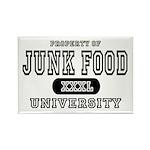 Junk Food University Rectangle Magnet (10 pack)
