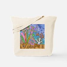 Sea Horse Sea Turtle Art Tote Bag