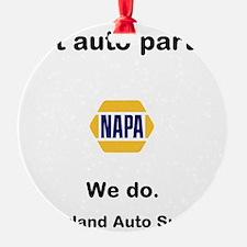 got auto parts? Ornament