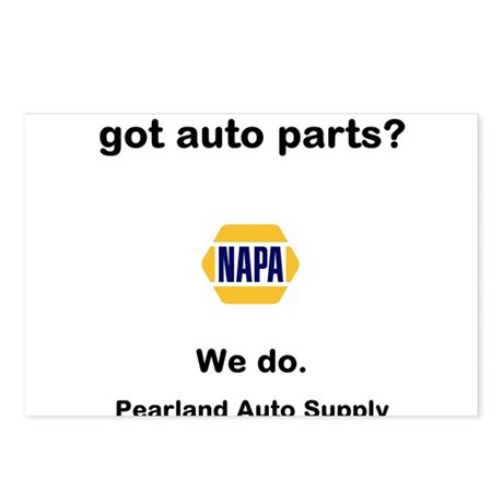got auto parts? Postcards (Package of 8)