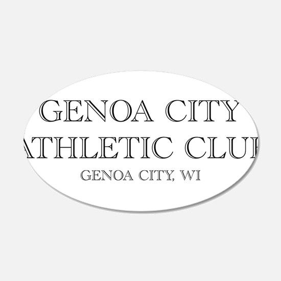 Genoa City Athletic Club 01.png Wall Decal