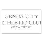 Genoa City Athletic Club 01.png Sticker