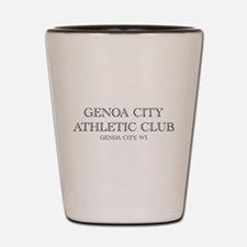 Genoa City Athletic Club 01.png Shot Glass
