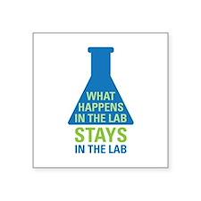 In The Lab Sticker