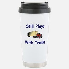 Funny Truck driver big rig Travel Mug