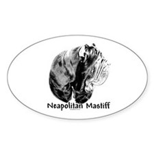 Neo (side) Charcoal Oval Decal