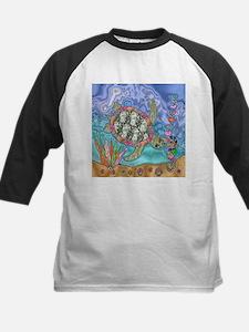 Sea Turtle Sea Horse Art Baseball Jersey