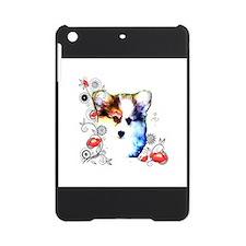 Pembroke Welsh Corgi Puppy with Floral Design iPad