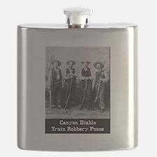 Canyon Diablo Posse Flask