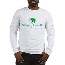 SimplyFlorida.png Long Sleeve T-Shirt