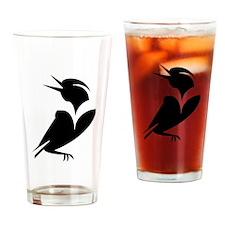 """MeadowLark"" Drinking Glass"