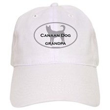 Canaan Dog GRANDPA Baseball Cap
