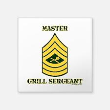 GRILL SERGEANT-MASTER Sticker