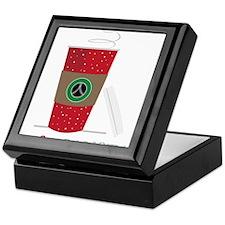 I Love a Barista Keepsake Box