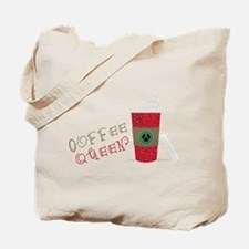 Coffee Queen Tote Bag