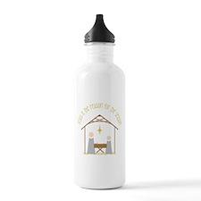 Reason for the Season Water Bottle