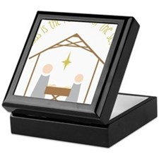 Reason for the Season Keepsake Box
