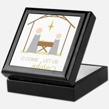 Let Us Adore Him Keepsake Box