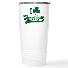I Shamrock Shenanigans Travel Mug