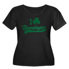 I Shamrock Shenanigans Plus Size T-Shirt