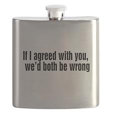 Agree to Disagree Flask