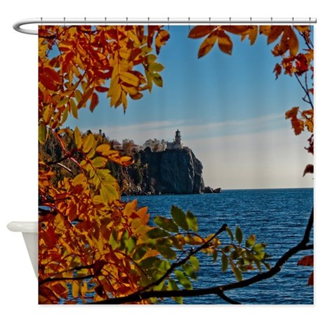 Fall At Split Rock Shower Curtain By Lighthousephotography