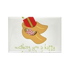 Happy St. Nick Day Rectangle Magnet