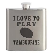 I Love Tambourine Flask